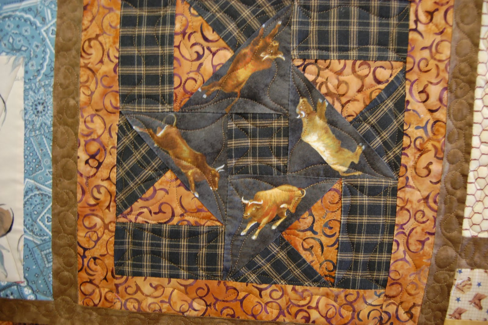 Creative Longarm Quilting by Karen Marchetti: the Cowboy Quilt : cowboy quilt - Adamdwight.com