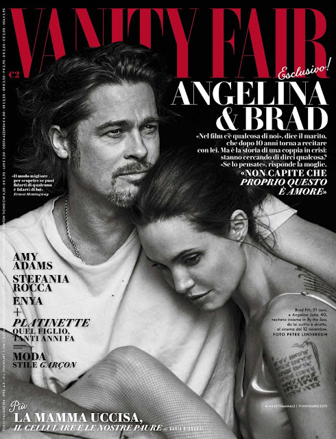 Actress @ Angelina Jolie and Brad Pitt by Paola Jacobbi for Vanity Fair Italy, November 2015