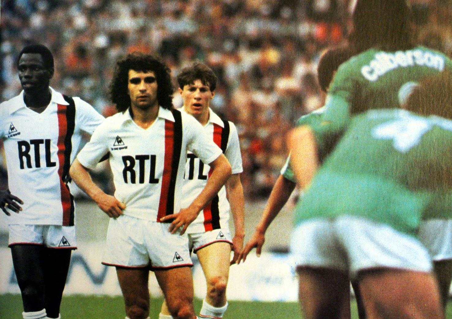 Finale coupe de france 1982 psg saint etienne the - Equipe de france 1982 coupe du monde ...