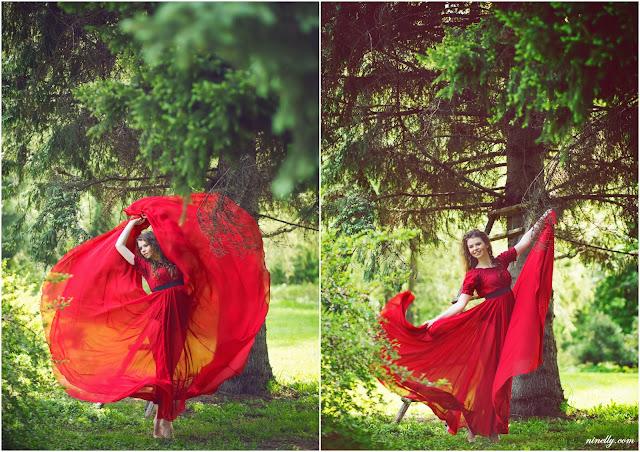 летящая юбка фотосессия