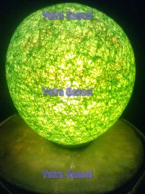 Asiknya Membuat Lampion Cantik dari Balon 10