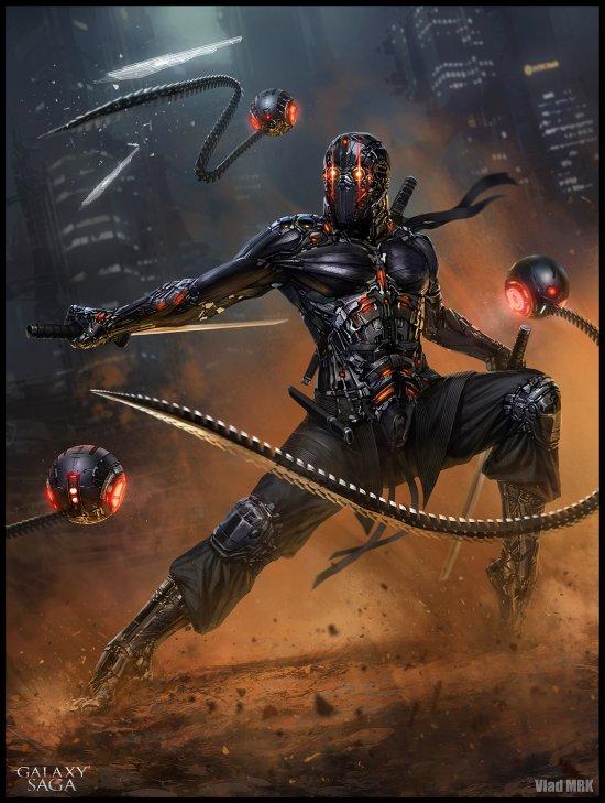 Vlad Marica VladMRK deviantart sombrias ilustrações ficção científica fantasia violenta sanguinária