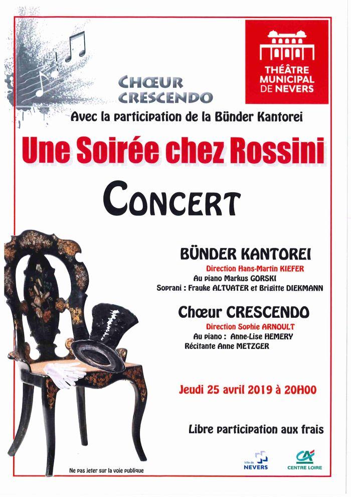 Concert au Théâtre Municipal de Nevers le 25 avril à 20h00