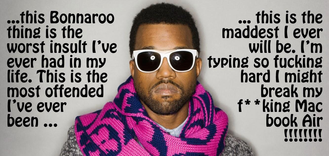 Kanye's Bonnaroo response 2008