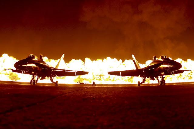 F-18 hornet resim