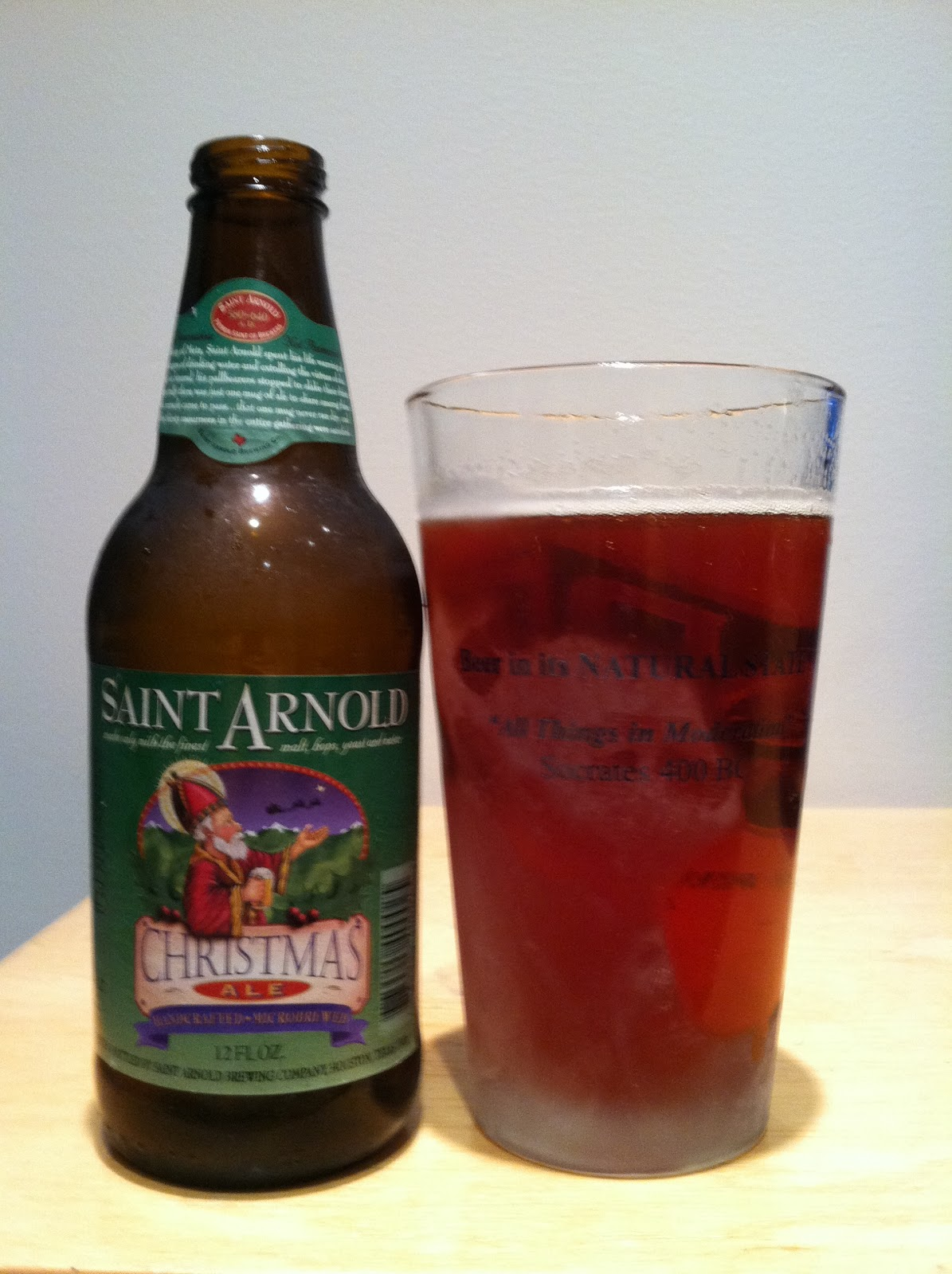 The Best Beer Blog: Saint Arnold Christmas Ale