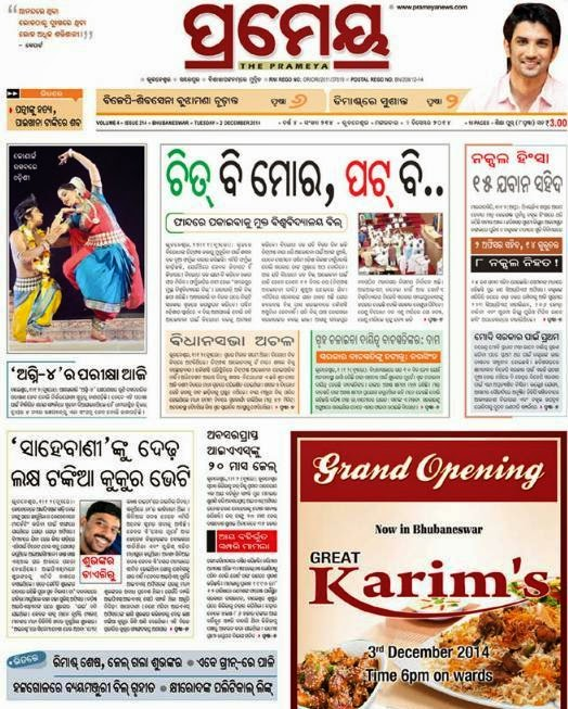 essay on newspaper in oriya