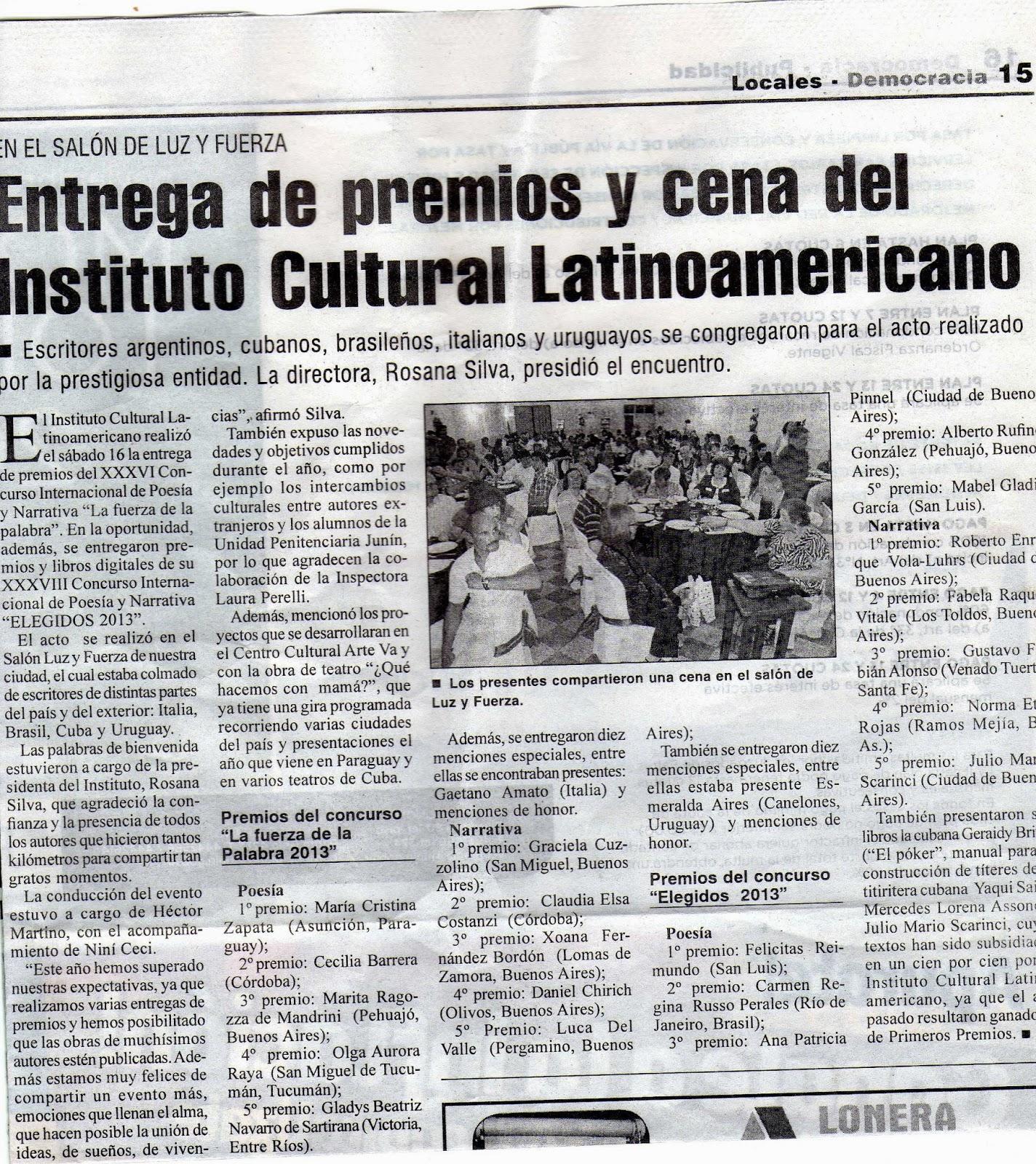diario democracia de junin online dating