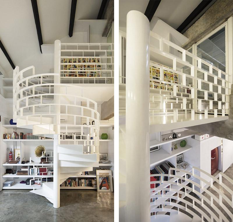 architechnophilia interiors the brick loft