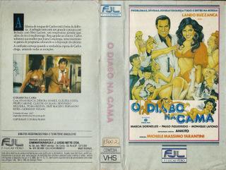 O DIABO NA CAMA - CINEMA NACIONAL - RARO