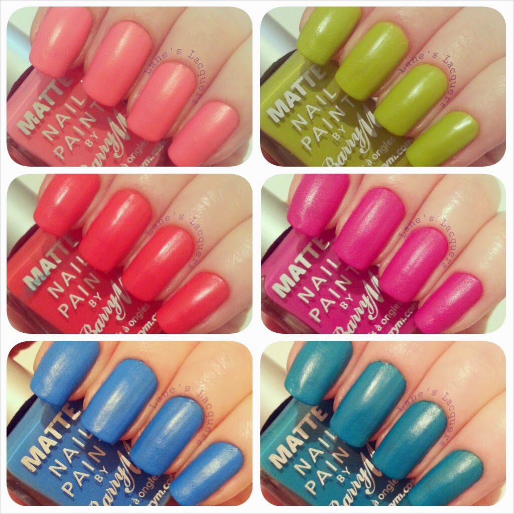 barry-m-summer-matte-polish-collection-swatches