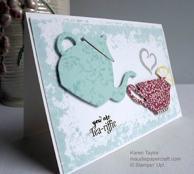 Stampin' Up! Cups & Kettles card