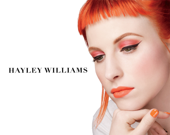 Coleo Hayley Williams para M.A.C.