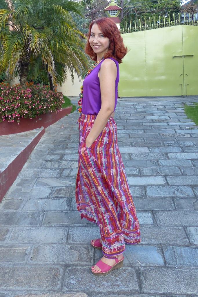 Gypsy palazzo pants