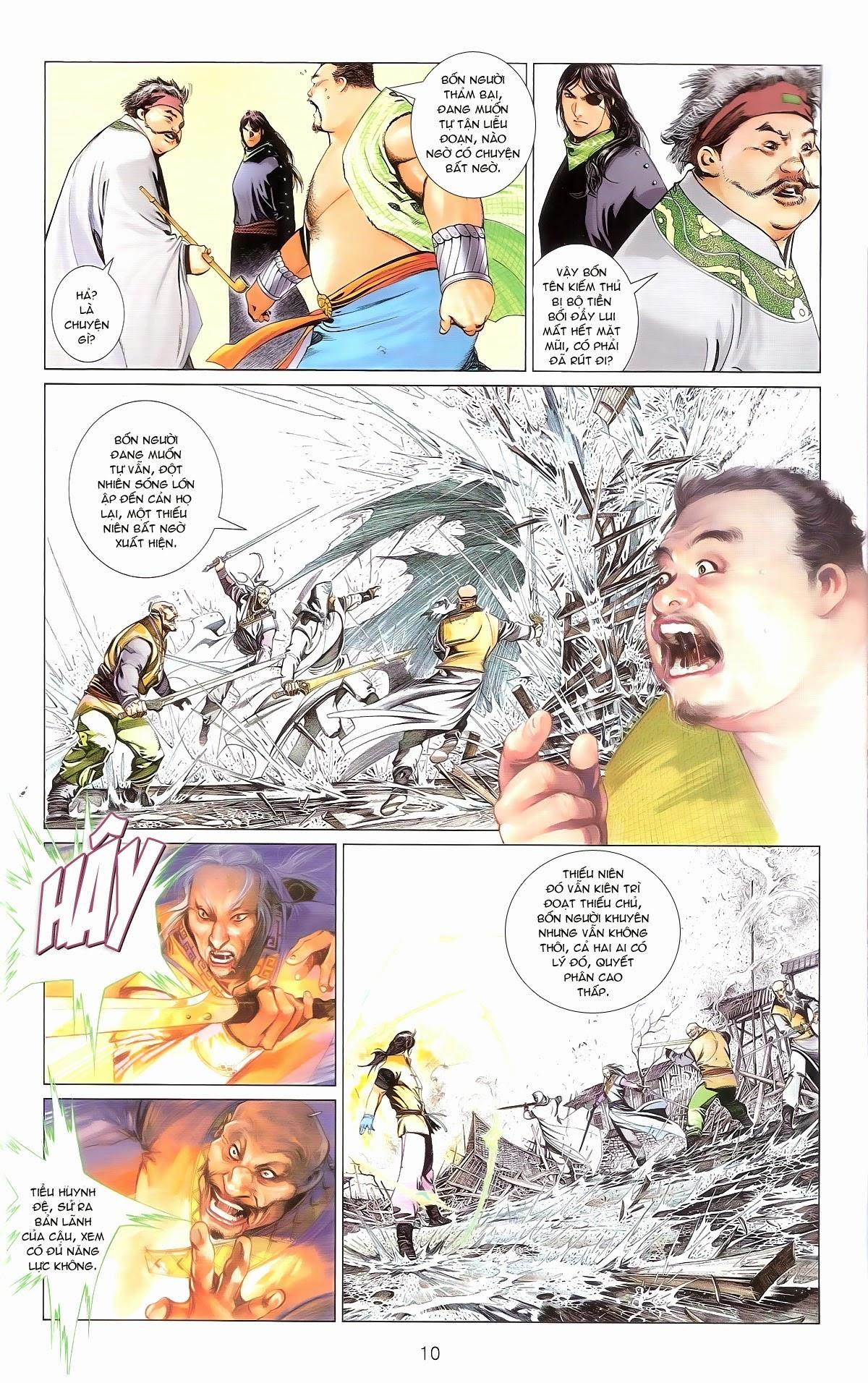 Phong Vân chap 674 – End Trang 12 - Mangak.info