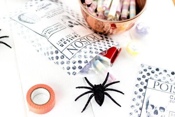 treat bags zum Selbermachen für Halloween