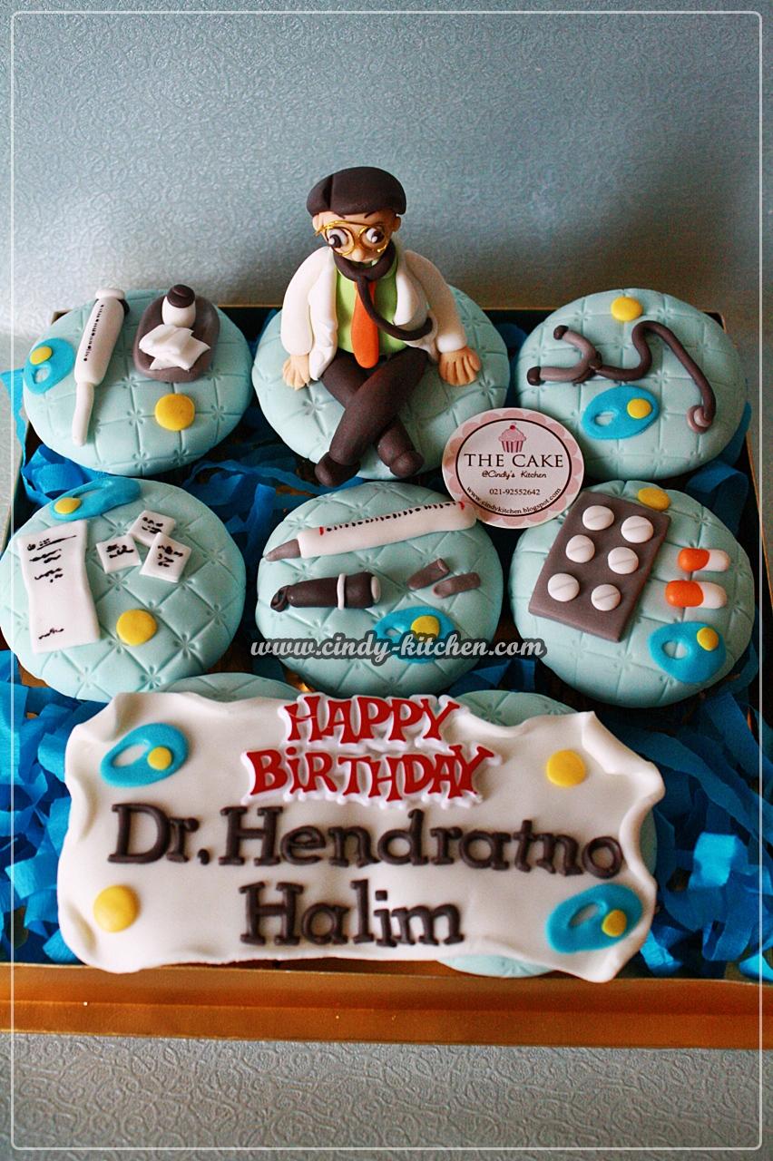 Thecake Doctor Themed Cupcake Set