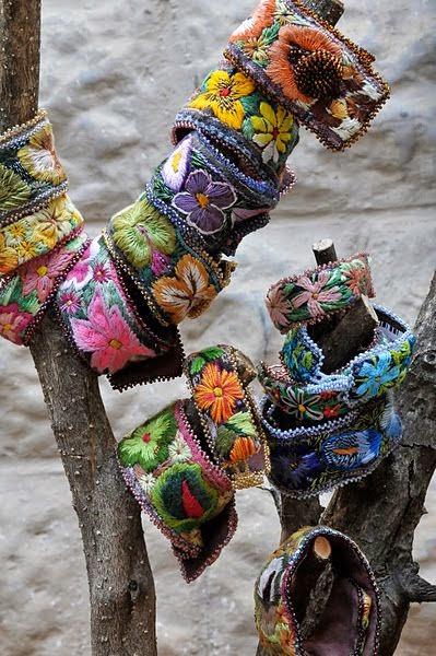 haftowane bransoletki