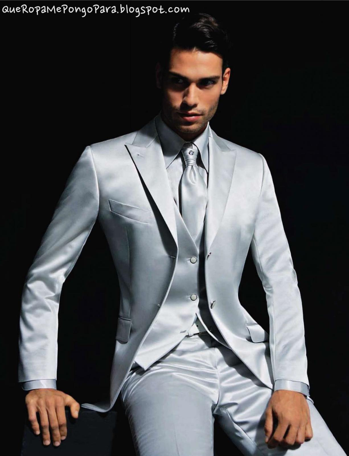 moda masculina TRAJES DE BODA PARA NOVIOS - Que ropa me pongo para mi boda