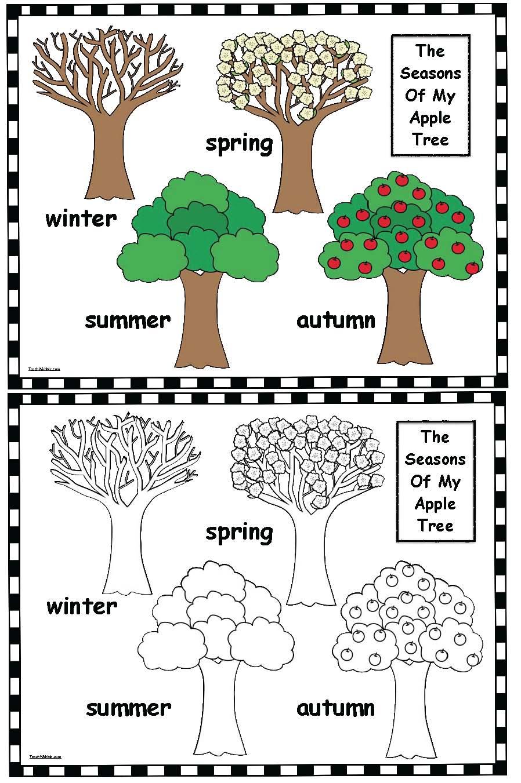 the seasons of my apple tree classroom freebies. Black Bedroom Furniture Sets. Home Design Ideas