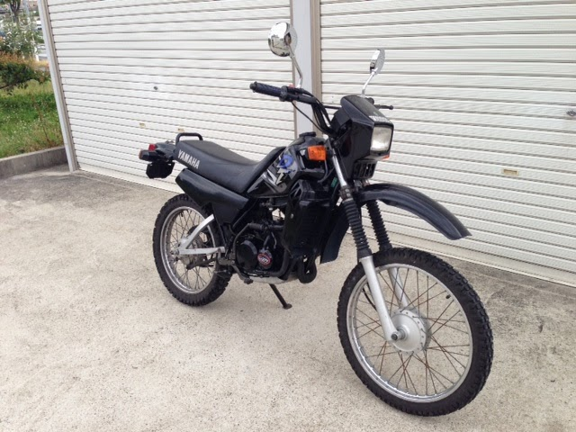 yamaha dt 50cc 110 000 yens casual bike style. Black Bedroom Furniture Sets. Home Design Ideas