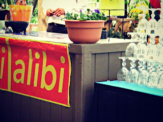 Weekly Alibi banners decorating El Pinto for the Taco USA Party
