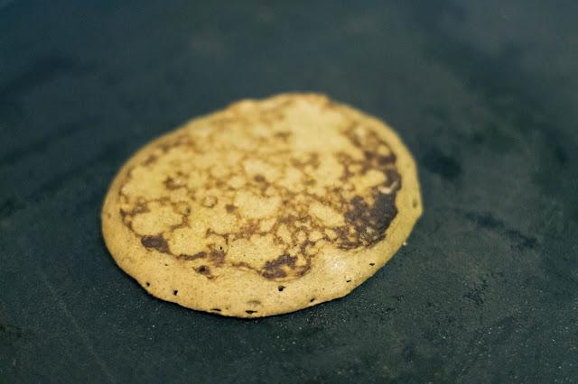 Paleo Coconut Flour Banana Pancakes