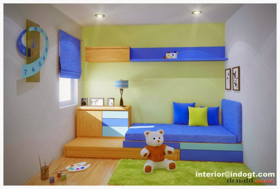 Desain kamar tidur anak perempuan inspirasi dekor rumah for Dekor kamar tidur hotel