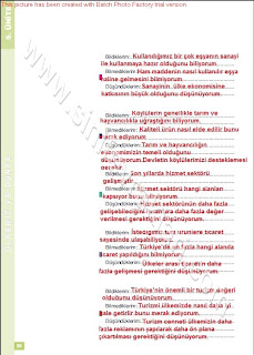 6. Sınıf Sosyal Bilgiler Altın Yayınları Öğrenci Çalışma Kitabı Cevapları Sayfa 96