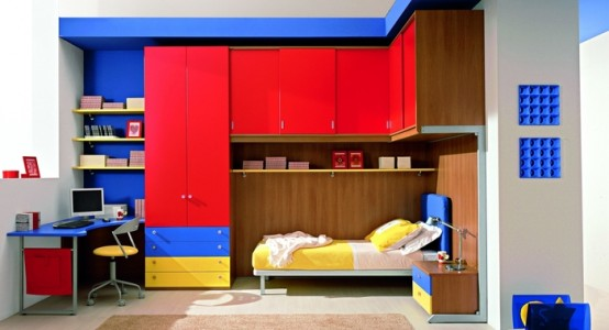 for Boys bedroom designs for small spaces