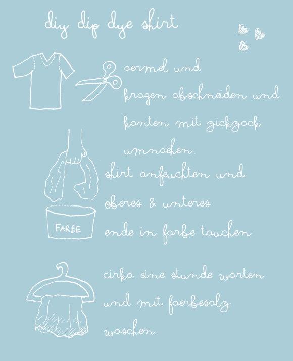 Anleitung Shirt Upcycling
