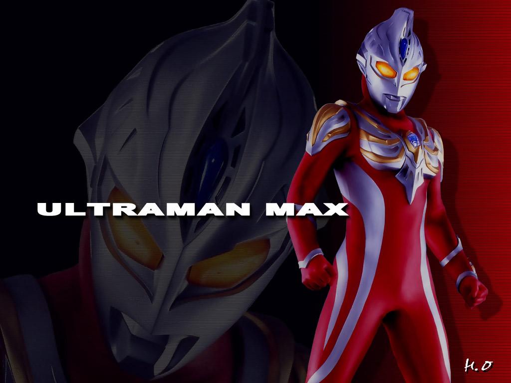 Ultraman max tokusatsu wallpaper