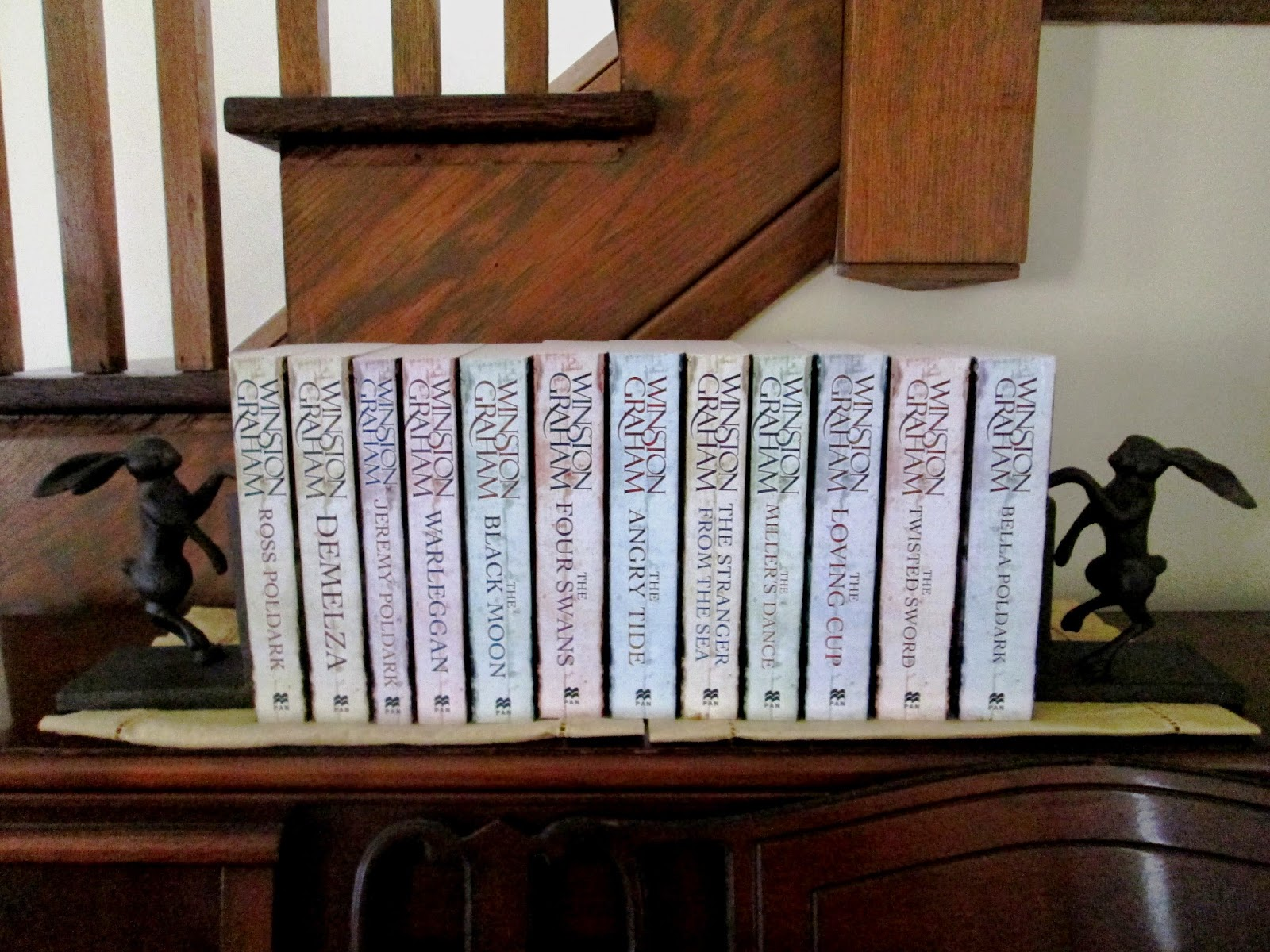 Poldark books in order - The Wild Reed