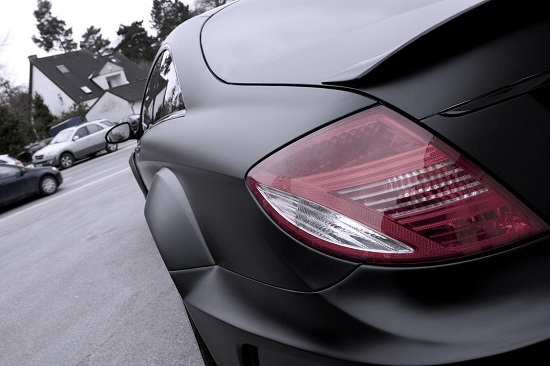 Mercedes CL 500 Black Matte Edition by Famous Parts