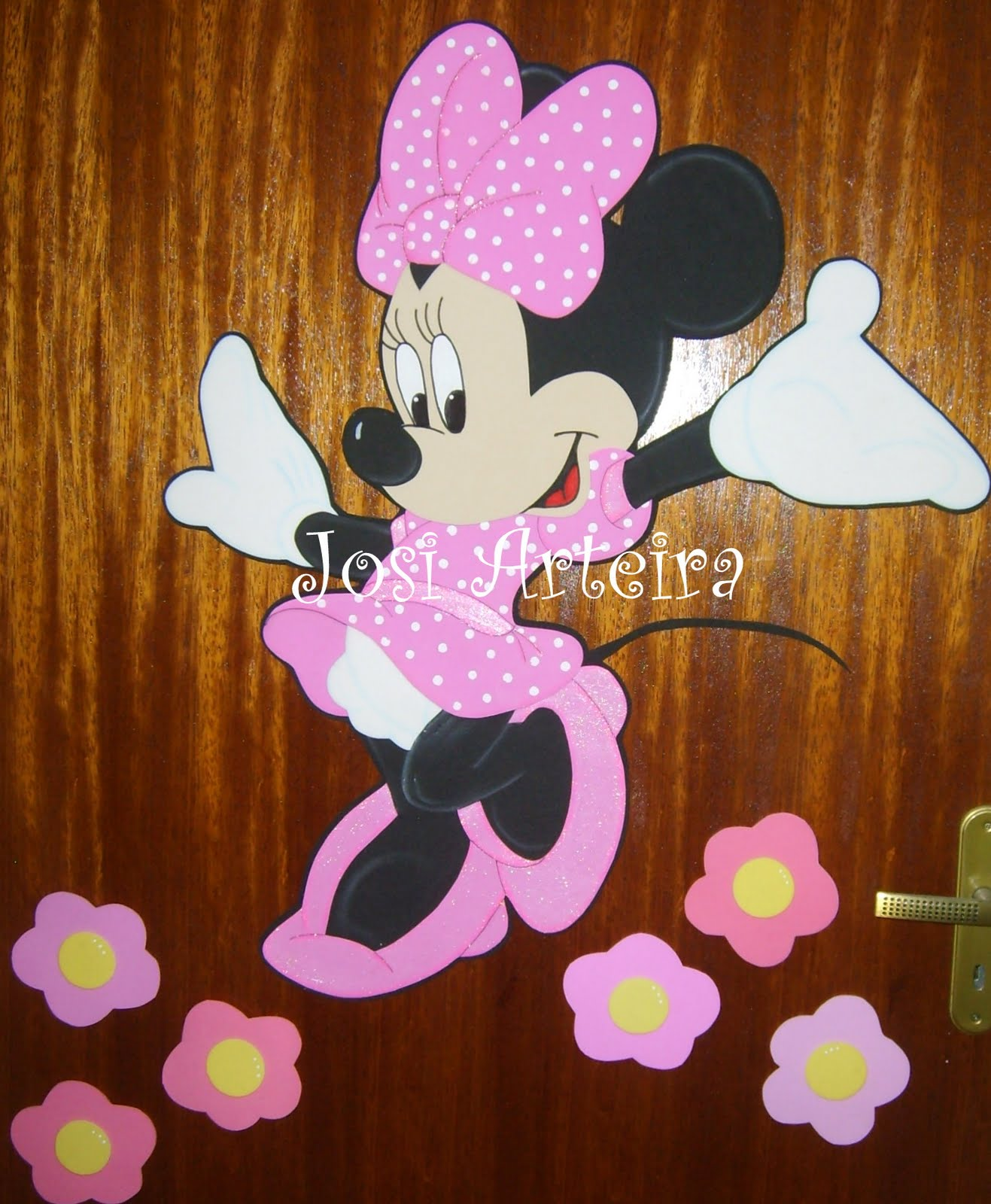 Moldes De Minnie