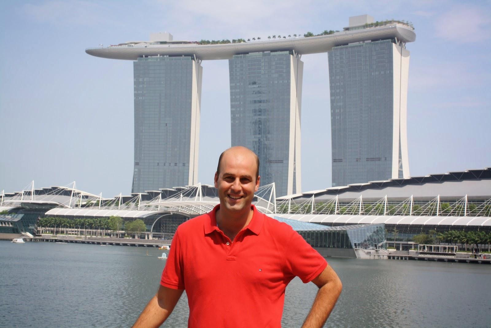 hotel marina bay sand en singapur