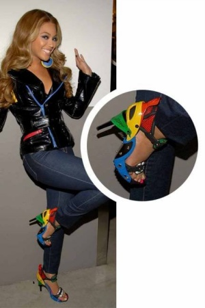 Sepatu Unik Beyonce