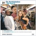 Capa Os Arrebatados – Na Real Vol.2 (2013) | músicas