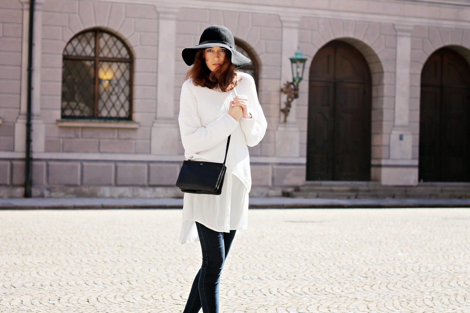 Outfit: White Layers