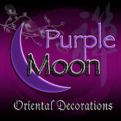 Purple Moon Oriental Decorations