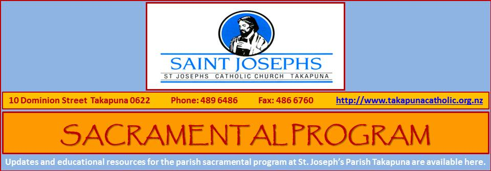 Sacramental Program 2013