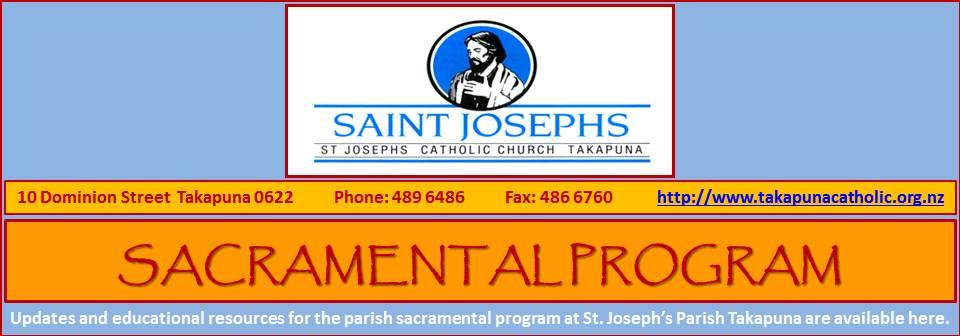 Sacramental Program 2013