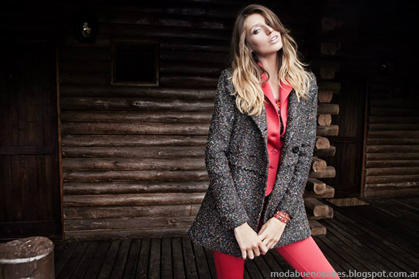 Moda tapados y abrigos otoño invierno 2014 - City Argentina otoño invierno 2014.