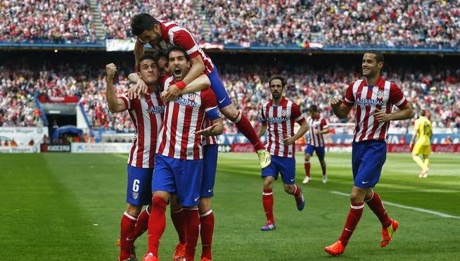 Un gol de Raúl García daba la victoria al Atlético.