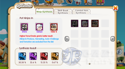 pockie ninja ii social ninja synthesis guide urgametips