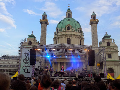 Karlsplatz'da Popfest