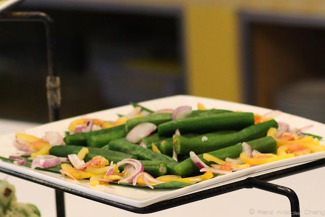 Vegetable Appetizers in Waway's Restaurant