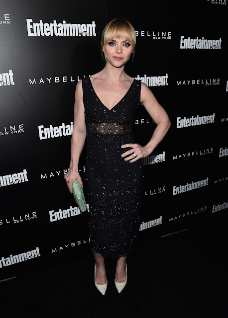 Actress, @ Christina Ricci - Entertainment Weekly's celebration honoring The Screen Actors Guild in LA
