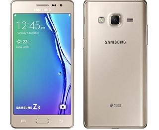 Harga Samsung Z3 dan Spesifikasi