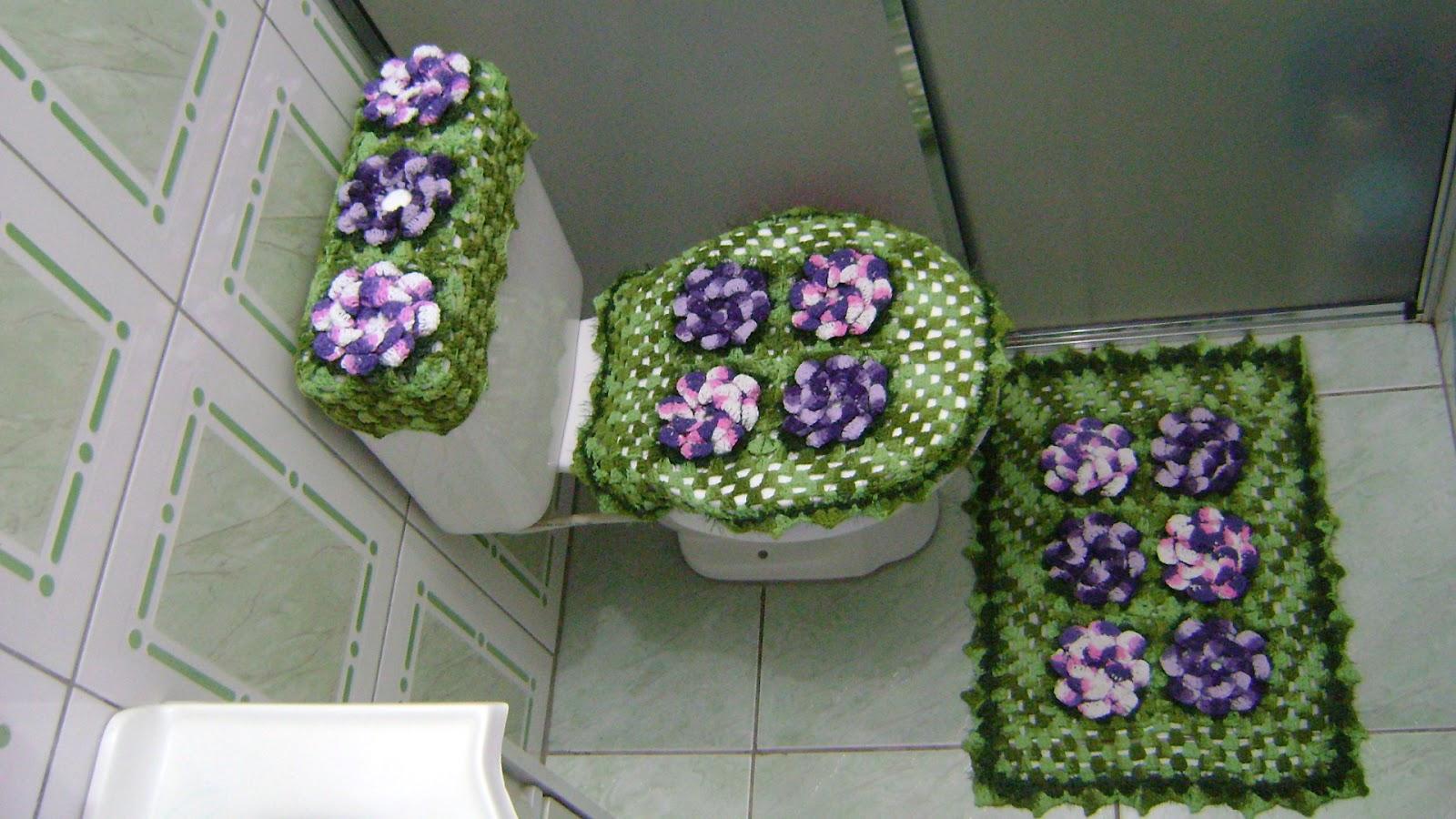 Imagens de #433868 Armarinhos Ursula: Jogo de Banheiro Verde e Roxo Feito por Ursula 1600x900 px 2764 Box Banheiro Novo Hamburgo Rs